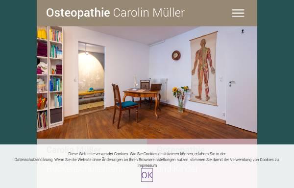 Vorschau von www.osteopathie-konstanz.eu, Carolin Müller