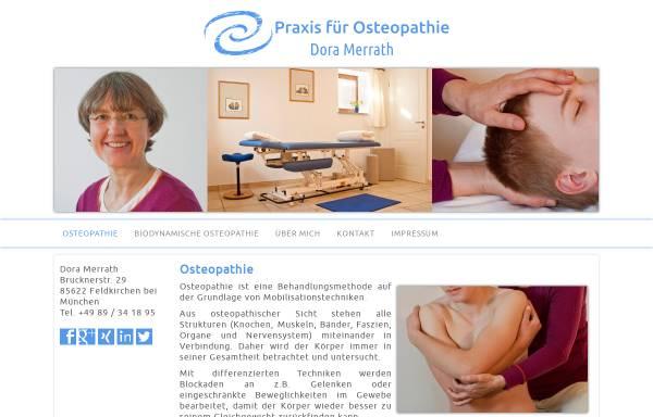 Vorschau von www.osteopathie-muenchen-ost.de, Dora Merrath