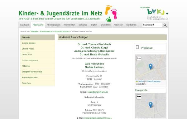 Vorschau von www.kinderaerzte-im-netz.de, Kinder- und Jugendärzte in Solingen