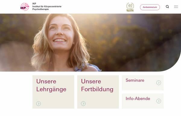 Vorschau von www.therapeut-in.ch, Interessengemeinschaft IKP