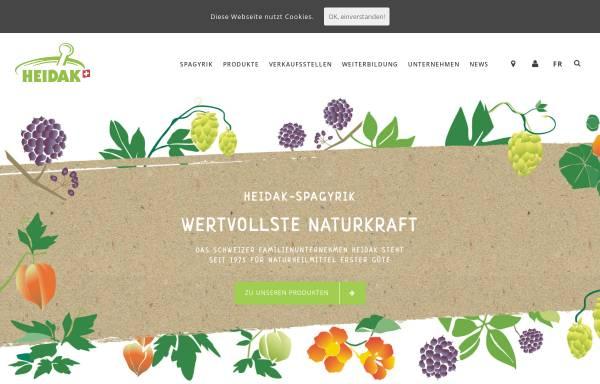 Vorschau von www.heidak.ch, Heidak AG
