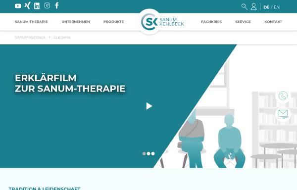 Vorschau von www.sanum.com, Sanum-Kelhbeck GmbH & Co.KG