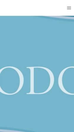 Vorschau der mobilen Webseite www.godo-impuls.de, Godo Gangschule