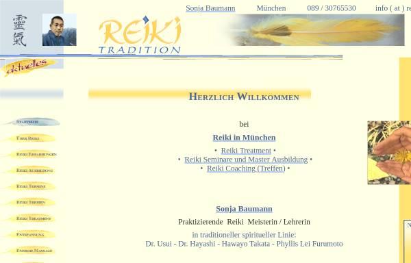 Vorschau von www.reiki-tradition.com, Reiki Tradition