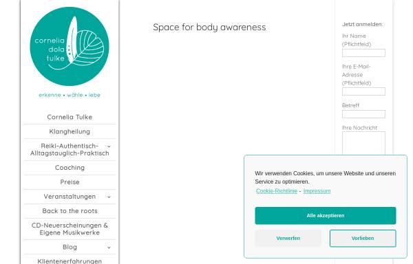Vorschau von cornelia-tulke.de, Conny Tulke