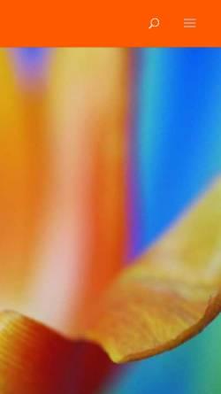 Vorschau der mobilen Webseite reiki-und-silkart.de, Angelika Gray