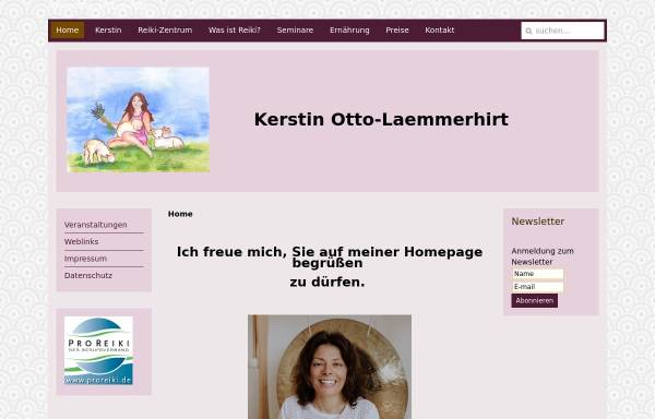 Vorschau von www.kerstin-otto-laemmerhirt.de, Reiki Zentrum Rheingau-Taunus