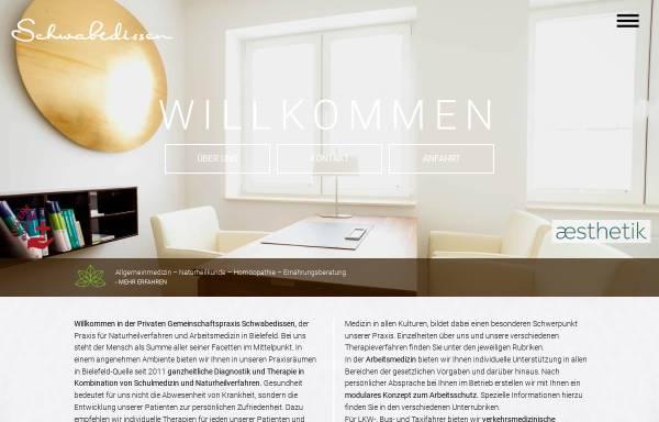 Vorschau von www.dr-schwabedissen.de, Gemeinschaftspraxis Schwabedissen