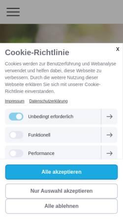 Vorschau der mobilen Webseite www.juliaeusemann.de, Julia Eusemann