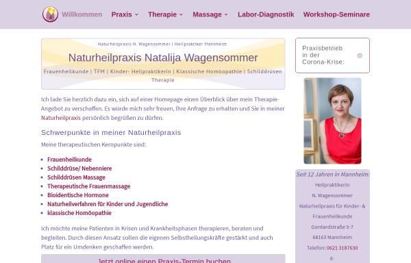 Vorschau von www.wagensommer.de, Naturheilpraxis Natalija Wagensommer