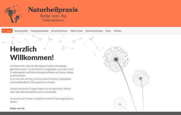 Vorschau von www.naturheilpraxis-von-au.de, Antje von Au
