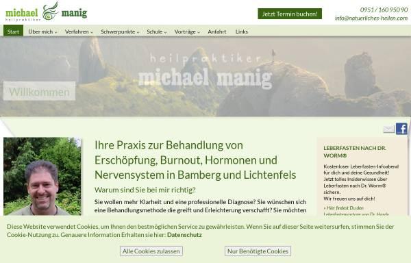 Vorschau von www.natuerliches-heilen.com, Naturheilpraxis Michael Manig