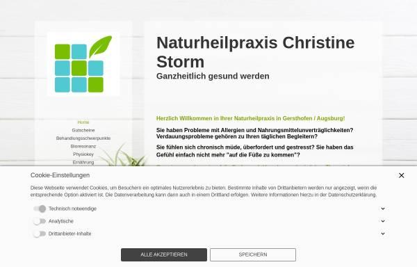 Vorschau von www.christine-storm.de, Christine Storm