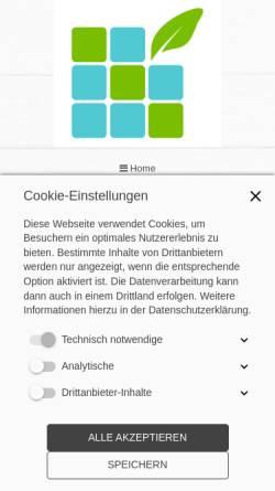 Vorschau der mobilen Webseite www.christine-storm.de, Christine Storm