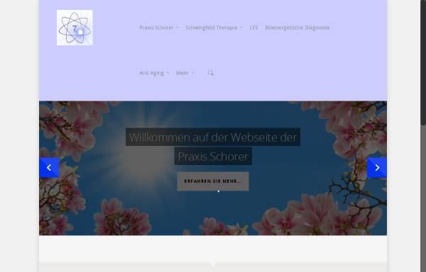Vorschau von www.schwingfeldtherapie.de, Margit Schorer