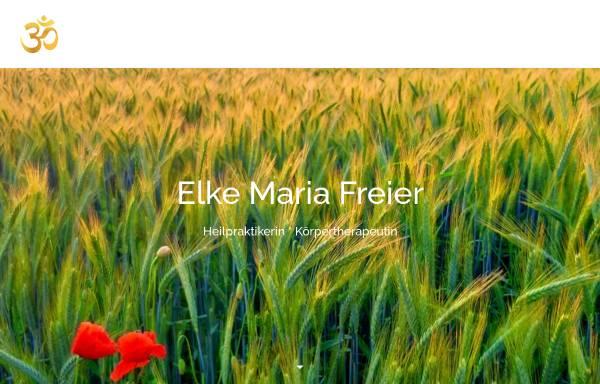 Vorschau von www.naturheilpraxis-freier.de, Elke Maria Freier
