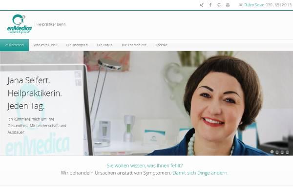 Vorschau von enmedica.de, EnMedica - Praxis Jana Seifert und Team