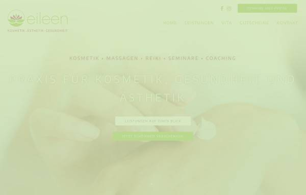 Vorschau von www.gesundheit-aesthetik.de, Praxis für Gesundheit und Ästhetik