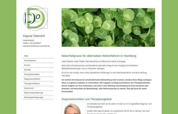 Vorschau von www.naturheilpraxis-ostendorf.de, Dagmar Ostendorf