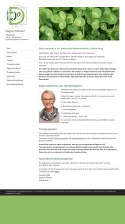 Vorschau der mobilen Webseite www.naturheilpraxis-ostendorf.de, Dagmar Ostendorf