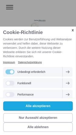 Vorschau der mobilen Webseite www.heilraum-rodenbach.de, Carmen Bilau-Lehre