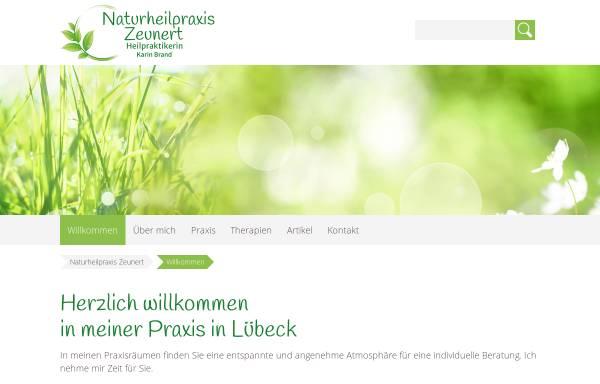 Vorschau von naturheilpraxis-zeunert.de, Naturheilpraxis Karin Zeunert