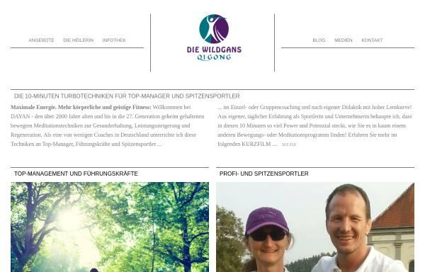 Vorschau von www.wildgans-qigong.de, Die Wildgans Qigong