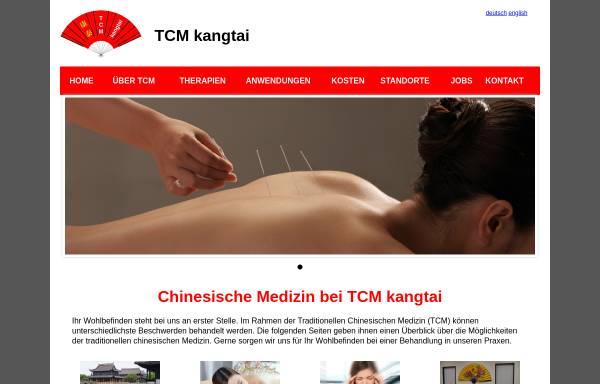 Vorschau von www.kangtai.ch, TCM kangtai