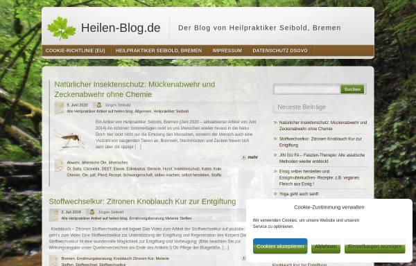 Vorschau von www.heilen-blog.de, Heilen Blog