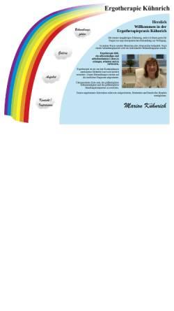 Vorschau der mobilen Webseite ergotherapie-kuehnrich.de, Ergotherapiepraxis Marion Kühnrich