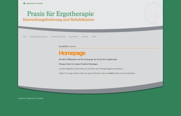 Vorschau von xn--ergotherapie-mssingen-uec.de, Praxis für Ergotherapie Eberle und Preuß