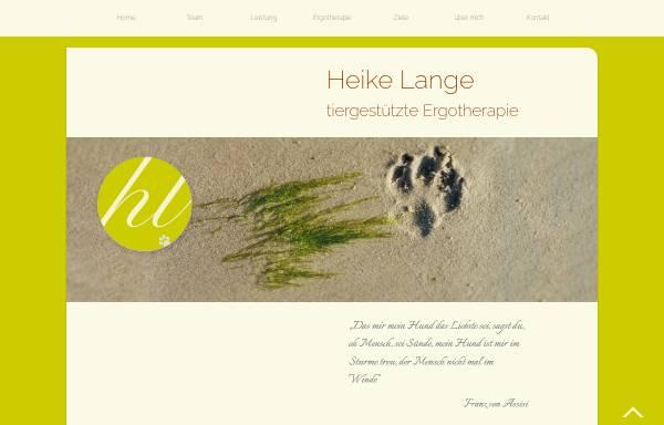 Vorschau von www.heila-tierergo.de, Heike Lange