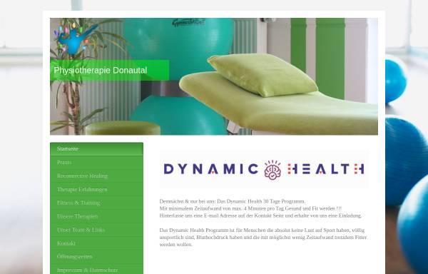 Vorschau von www.physiotherapiedonautal.de, Physiotherapie Donautal