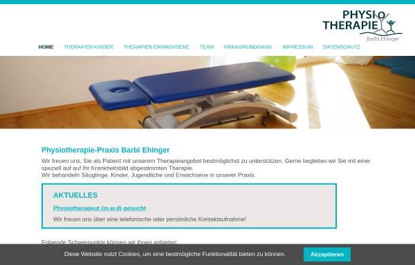 Vorschau von www.physio-bermatingen.de, Barbi Ehinger