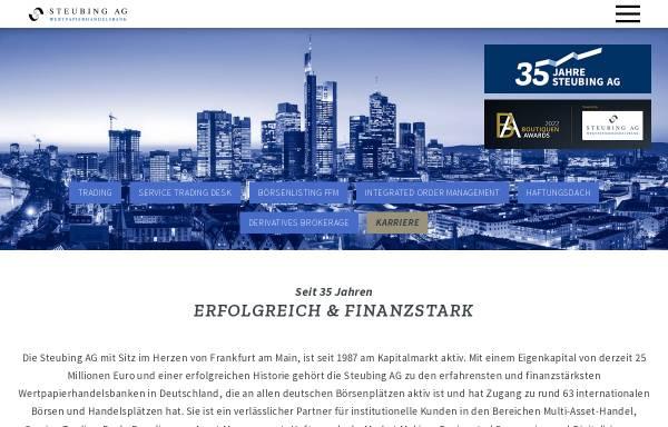 Vorschau von www.steubing.de, Steubing AG