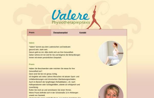 Vorschau von www.physio-valere.de, Physiotherapiepraxis Valere