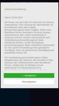 Vorschau der mobilen Webseite www.physio-celle.de, Sven Haubert - Gesund und Vital