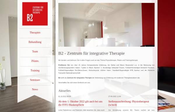 Vorschau von b2-zentrum.de, B2 Zentrum für integrative Therapie
