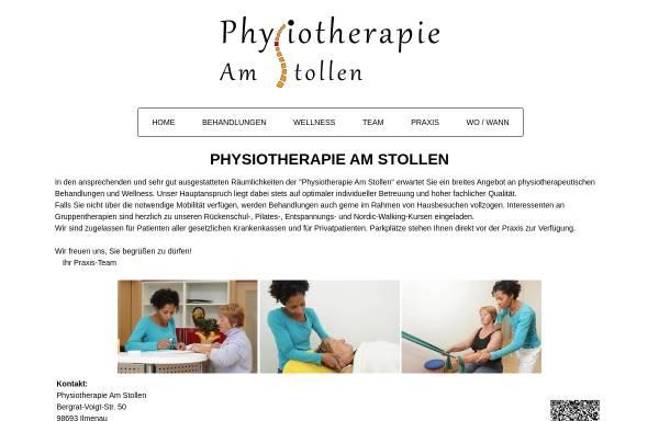 Vorschau von www.physiotherapie-amstollen.de, Physiotherapie Am Stollen, Miriam Hilbrunner