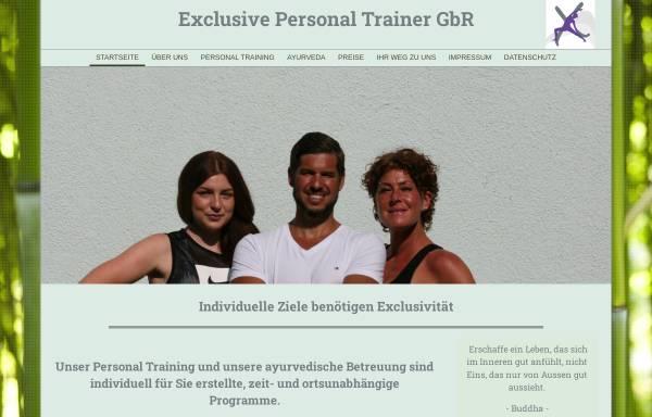 Vorschau von www.exclusive-personal-trainer.de, Exclusive Personal Trainer GbR