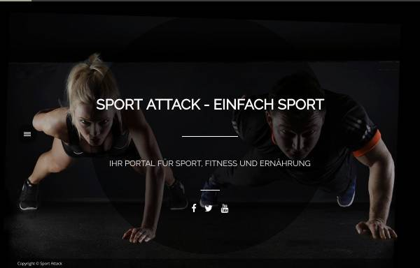Vorschau von sport-attack.net, Sport-Attack