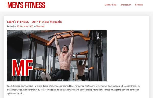 Vorschau von www.mensfitness.de, Mens Fitness