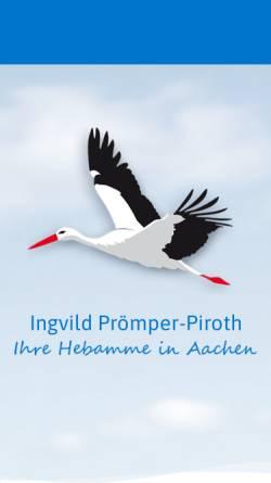 Vorschau der mobilen Webseite aachener-hebamme.de, Prömper-Piroth, Ingvild