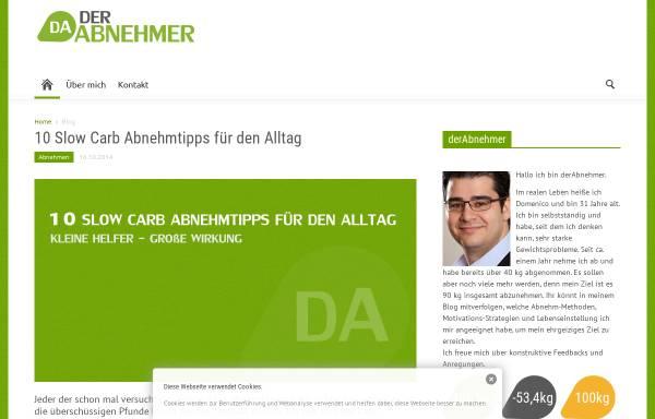 Vorschau von www.derabnehmer.de, DerAbnehmer