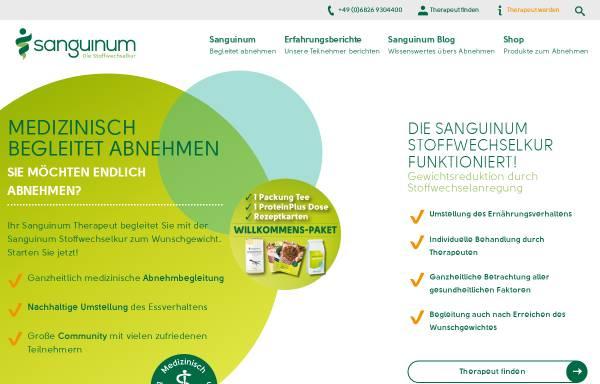 Vorschau von sanguinum.com, Sanguinum