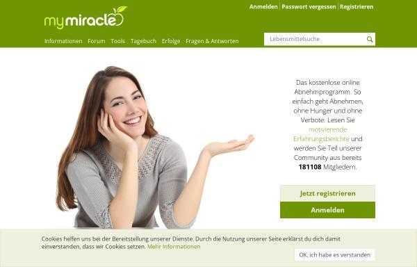 Vorschau von www.my-miracle.de, My Miracle