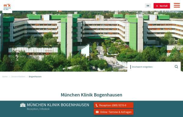 Vorschau von www.klinikum-muenchen.de, Klinikum Bogenhausen