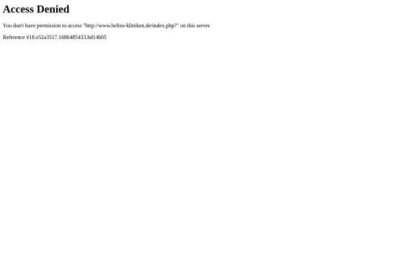 Vorschau von www.helios-kliniken.de, Helios Klinikum Warburg