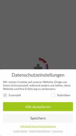 Vorschau der mobilen Webseite www.klinikum-westmuensterland.de, St. Marien-Krankenhaus Ahaus