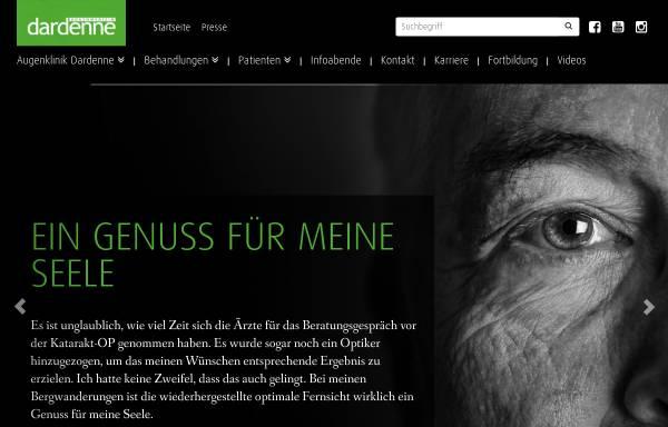 Vorschau von www.augenklinik-dardenne.de, Augenklinik Dardenne